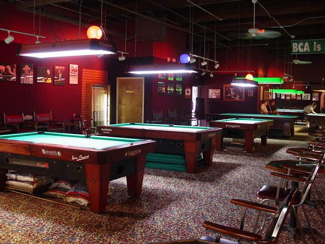 led professional pool table lights